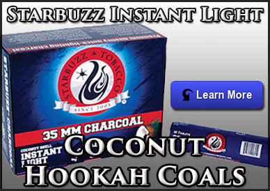 Starbuzz Instant Light Hookah Coals