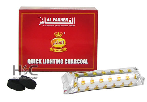 Al Fakher Quick Lighting Coals at Hookah Company