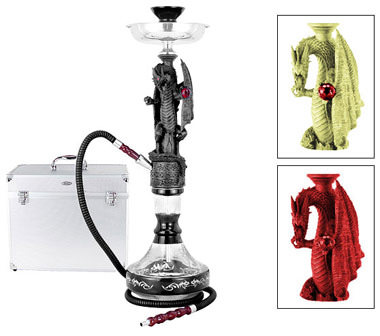 "24"" Dragon Hookah with Case"