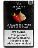Strawberry Cream Al Fakher Shisha Tobacco