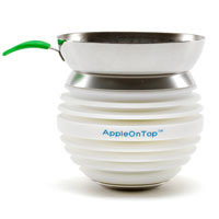 Apple On Top Hookah Bowl - White