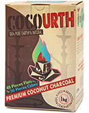CocoUrth Split Box Coconut Coals