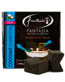 Fantasia Air-Flow Natural Coconut Hookah Charcoal