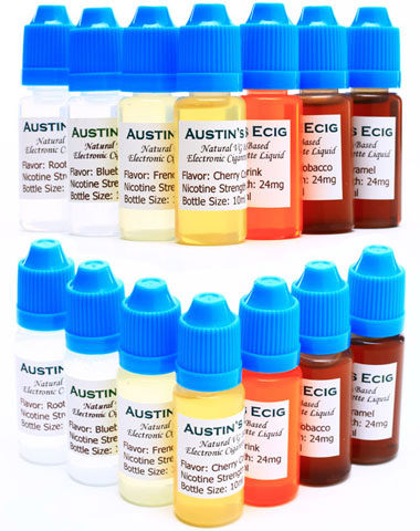 Austin's E-Cig E-Liquid Bottle