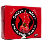 Golden River Scented Quick-Lighting Hookah Charcoals - 33mm