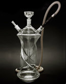 "17"" Lavoo MP7 Glass on Glass Hookah"