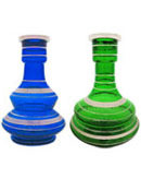 Egyptian Genie Glass Hookah Vase