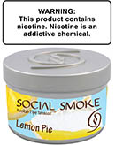 New - Lemon Pie Social Smoke Shisha