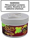 Grape Chill Social Smoke Shisha