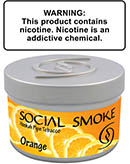 Orange Social Smoke Shisha