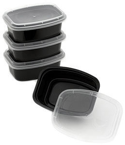 Takeout Style Plastic Shisha Storage Container
