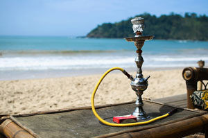 Smoking Hookah Outside - Tips and Tricks from the Pros