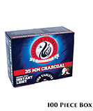Starbuzz Instant Light Coconut Coals - 1 Box (100 Pieces)