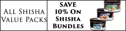 10% off Shisha Value Packs