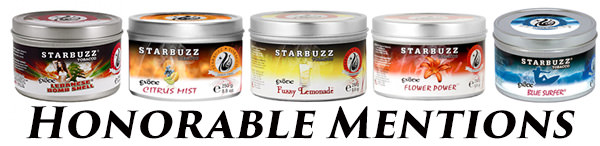 Starbuzz Honorable Mentions